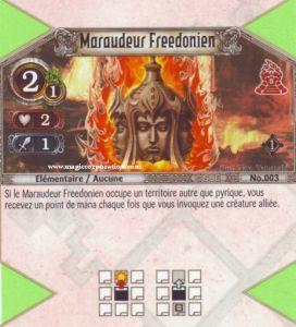 The Eye of Judgment Autres jeux de cartes 003 - Commune -  Maraudeur Freedonien [Biolith Rebellion - Cartes The Eye of judgment]