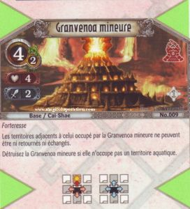 The Eye of Judgment 009 - Peu Commune -  Granvenoa mineure [Biolith Rebellion - Cartes The Eye of judgment]