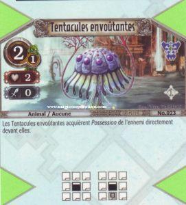 The Eye of Judgment Autres jeux de cartes 023 - Peu Commune -  Tentacules envoûtants [Biolith Rebellion - Cartes The Eye of judgment]