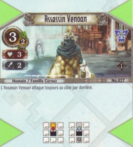 The Eye of Judgment Autres jeux de cartes 027 - Commune -  Assassin Venoan [Biolith Rebellion - Cartes The Eye of judgment]