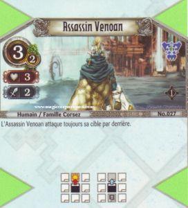 The Eye of Judgment Autres jeux de cartes 027 - Commune -  Assassin Venoan [Biolith Rebellion - Cartes The Eye of judgment]