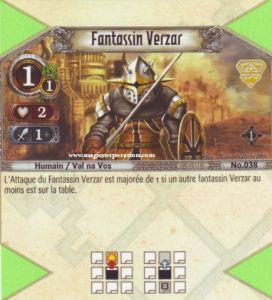 The Eye of Judgment Autres jeux de cartes 038 - Commune -  Fantassin Verzar [Biolith Rebellion - Cartes The Eye of judgment]