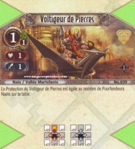 The Eye of Judgment Autres jeux de cartes 039 - Commune -  Voltigeur de Pierres [Biolith Rebellion - Cartes The Eye of judgment]