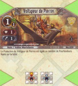 The Eye of Judgment Autres jeux de cartes 039 - Commune -  Voltigeur de Pierres [Biolith Rebellion - Cartes The Eye of judgment]