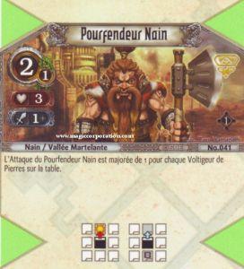 The Eye of Judgment Autres jeux de cartes 041 - Commune -  Pourfendeur Nain [Biolith Rebellion - Cartes The Eye of judgment]