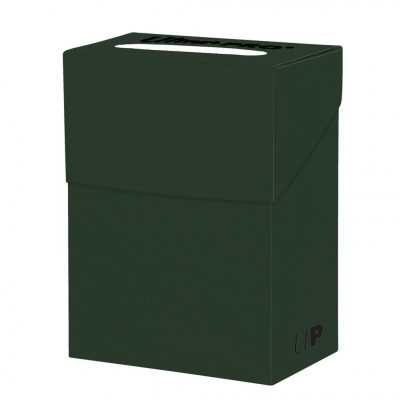 Boites de Rangements Accessoires Pour Cartes Deck Box Ultra Pro Polydeck - Vert Foret