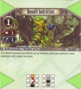 The Eye of Judgment Autres jeux de cartes 055 - Commune -  Bandit batracien [Biolith Rebellion - Cartes The Eye of judgment]