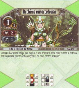 The Eye of Judgment Autres jeux de cartes 057 - Commune -  Archère ensorceleuse [Biolith Rebellion - Cartes The Eye of judgment]