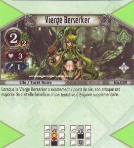The Eye of Judgment Autres jeux de cartes 059 - Peu Commune -  Vierge Berseker [Biolith Rebellion - Cartes The Eye of judgment]