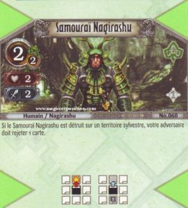 The Eye of Judgment Autres jeux de cartes 060 - Peu Commune -  Samouraï Nagirashu [Biolith Rebellion - Cartes The Eye of judgment]