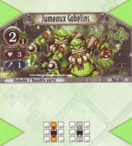 The Eye of Judgment Autres jeux de cartes 061 - Commune -  Jumeaux Gobelins [Biolith Rebellion - Cartes The Eye of judgment]
