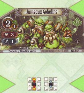 The Eye of Judgment Autres jeux de cartes 061 - Commune -  Jumeaux Gobelins [Biolith Rebellion - Cartes The Eye of judgment]