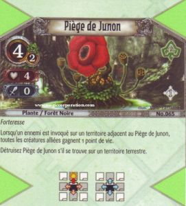 The Eye of Judgment Autres jeux de cartes 065 - Peu Commune -  Piège de Junon [Biolith Rebellion - Cartes The Eye of judgment]