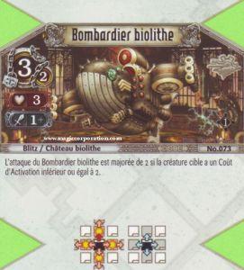 The Eye of Judgment Autres jeux de cartes 073 - Commune -  Bombardier Biolithe [Biolith Rebellion - Cartes The Eye of judgment]