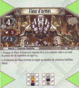 The Eye of Judgment Autres jeux de cartes 077 - Commune -  Fléau d'Armes [Biolith Rebellion - Cartes The Eye of judgment]