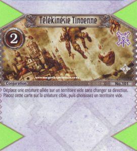 The Eye of Judgment Autres jeux de cartes 101 - Peu Commune -  Télékinésie Tinoenne [Biolith Rebellion - Cartes The Eye of judgment]