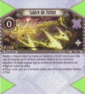 The Eye of Judgment Autres jeux de cartes 106 - Peu Commune -  Colère de Junon [Biolith Rebellion - Cartes The Eye of judgment]