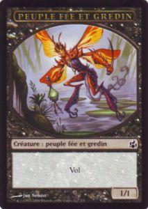 Tokens Magic Magic the Gathering Token/Jeton - Lèveciel - Peuple Fée et Gredin
