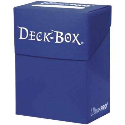 Boites de Rangements Accessoires Pour Cartes Deck Box Ultra Pro Polydeck - Bleu