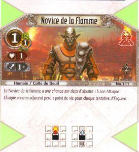 The Eye of Judgment Autres jeux de cartes 111 - Commune - Novice de la flamme [Biolith Rebellion 2 - Cartes The Eye of judgment]