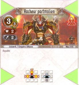 The Eye of Judgment Autres jeux de cartes 115 - Commune - Hacheur partmolien [Biolith Rebellion 2 - Cartes The Eye of judgment]