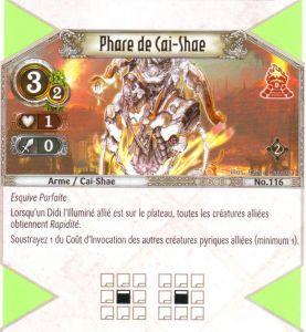 The Eye of Judgment Autres jeux de cartes 116 - Commune - Phase de Cai-Shae [Biolith Rebellion 2 - Cartes The Eye of judgment]