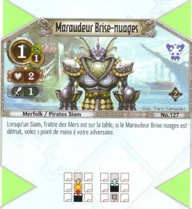 The Eye of Judgment Autres jeux de cartes 127 - Commune - Maraudeur Brise-nuages [Biolith Rebellion 2 - Cartes The Eye of judgment]