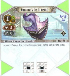 The Eye of Judgment Autres jeux de cartes 128 - Commune - Courriers de la reine [Biolith Rebellion 2 - Cartes The Eye of judgment]