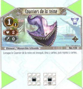 The Eye of Judgment Autres jeux de cartes 128 - Commune - Courriers de la reine [Biolith Rebellion 2 - Cartes The Eye of judgment]