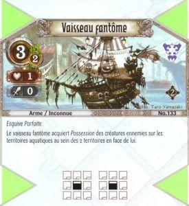 The Eye of Judgment Autres jeux de cartes 133 - Commune - Vaisseau fantôme [Biolith Rebellion 2 - Cartes The Eye of judgment]