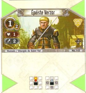 The Eye of Judgment Autres jeux de cartes 143 - Commune - Epéiste Verzar [Biolith Rebellion 2 - Cartes The Eye of judgment]