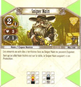 The Eye of Judgment Autres jeux de cartes 146 - Commune - Sniper nain [Biolith Rebellion 2 - Cartes The Eye of judgment]