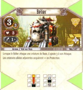 The Eye of Judgment Autres jeux de cartes 147 - Peu Commune - Bélier [Biolith Rebellion 2 - Cartes The Eye of judgment]