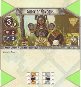 The Eye of Judgment Autres jeux de cartes 149 - Peu Commune - Guerrier Novogus [Biolith Rebellion 2 - Cartes The Eye of judgment]