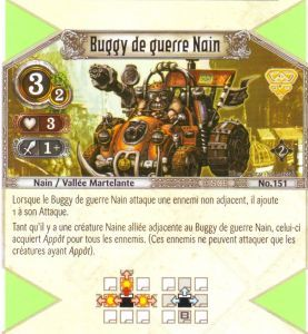The Eye of Judgment Autres jeux de cartes 151 - Commune - Buggy de guerre nain [Biolith Rebellion 2 - Cartes The Eye of judgment]