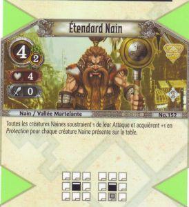 The Eye of Judgment Autres jeux de cartes 152 - Peu Commune - Etandard nain [Biolith Rebellion 2 - Cartes The Eye of judgment]