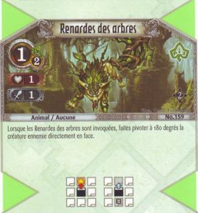 The Eye of Judgment Autres jeux de cartes 159 - Commune - Renardes des arbres [Biolith Rebellion 2 - Cartes The Eye of judgment]