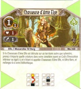 The Eye of Judgment Autres jeux de cartes 160 - Commune - Chasseuse d'âme Elfe [Biolith Rebellion 2 - Cartes The Eye of judgment]