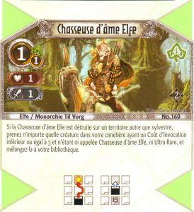The Eye of Judgment Autres jeux de cartes 160 - Commune - Chasseuse d'âme Elfe [Biolith Rebellion 2 - Cartes The Eye of judgment]