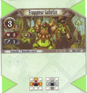The Eye of Judgment Autres jeux de cartes 164 - Commune - Frappeur Gobelin [Biolith Rebellion 2 - Cartes The Eye of judgment]