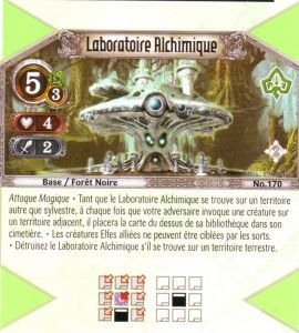 The Eye of Judgment Autres jeux de cartes 170 - Peu Commune - Laboratoire Alchimique [Biolith Rebellion 2 - Cartes The Eye of judgment]