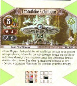 The Eye of Judgment Autres jeux de cartes 170 - Peu Commune - Laboratoire Alchimique [Biolith Rebellion 2 - Cartes The Eye of judgment]