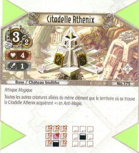 The Eye of Judgment Autres jeux de cartes 175 - Peu Commune - Citadelle Athenix [Biolith Rebellion 2 - Cartes The Eye of judgment]