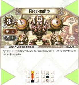 The Eye of Judgment Autres jeux de cartes 176 - Peu Commune - Fléau-maître [Biolith Rebellion 2 - Cartes The Eye of judgment]