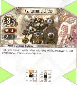 The Eye of Judgment Autres jeux de cartes 177 - Commune - Centurion biolithe [Biolith Rebellion 2 - Cartes The Eye of judgment]
