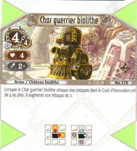 The Eye of Judgment Autres jeux de cartes 178 - Commune - Char guerrier biolithe [Biolith Rebellion 2 - Cartes The Eye of judgment]