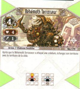 The Eye of Judgment Autres jeux de cartes 179 - Peu Commune - Béhémoth Terrasseur [Biolith Rebellion 2 - Cartes The Eye of judgment]