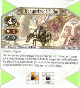 The Eye of Judgment Autres jeux de cartes 180 - Commune - Transporteur biolithe [Biolith Rebellion 2 - Cartes The Eye of judgment]