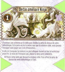 The Eye of Judgment Autres jeux de cartes 199 - Commune - Destin amélioré Ninja [Biolith Rebellion 2 - Cartes The Eye of judgment]