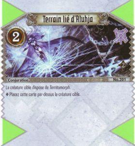 The Eye of Judgment Autres jeux de cartes 201 - Commune - Terrain lié d'Aluhja [Biolith Rebellion 2 - Cartes The Eye of judgment]